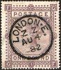 1882 £1 Brown-lilac