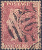 1861 1d Rose-red C12hb Plate 51 'KB' State 3