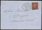1855 1d Red C3 Plate 6 'PC'