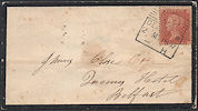 1857 1d Orange-brown C9(1) Plate 48 'MC'